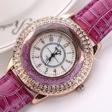Load image into Gallery viewer, Women Fashion Luxury Leisure Set Auger Quartz Watch