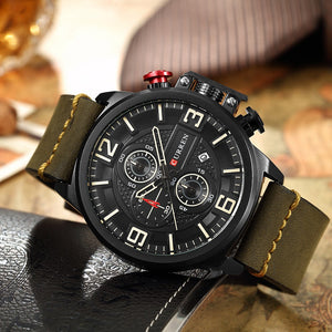 Quartz 3ATM Water-resistant Man Wristwatch Relogio Musculino Chronograph