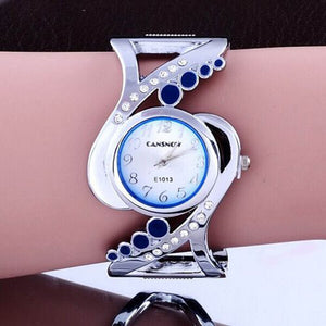 New Design Women Watch, Bangle Watch Quartz Crystal Wrist Watch, Luxury