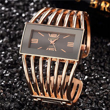 Load image into Gallery viewer, Women Watch, Brand Luxury Bangle Wrist Watch Fashion Rose Gold Bracelet Women