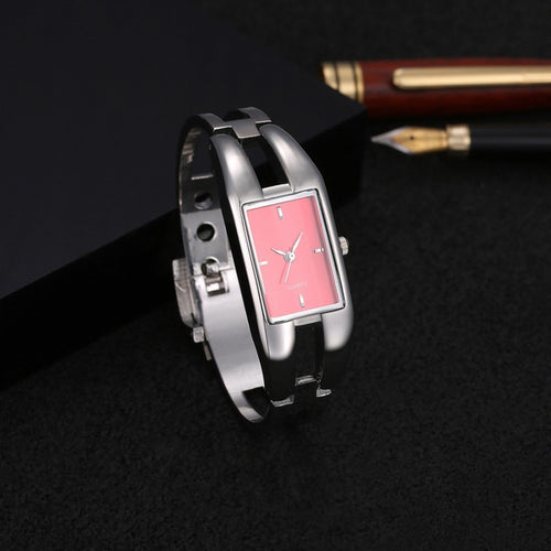 Women Watch, Luxury Brand Bracelet Watches, Hollow Slim Band Wrist Watches