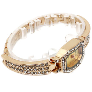 Luxury Women's Watch, Bracelet Bangle Crystal Wristwatch, Quartz Watch for Women Lady