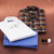 Pack of 3 - Brown Check, White Print, Light Blue Solid Shirts (US-Combo 5)