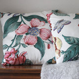 Floral Decorative Pillows, Set of Two