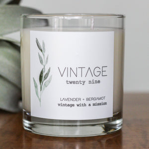 Lavender and Bergamot Candle