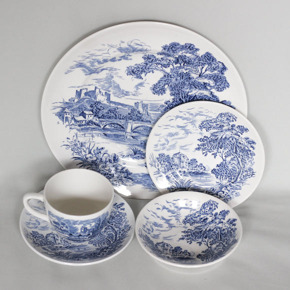 Countryside Wedgwood & Co Blue China 30 pc Set