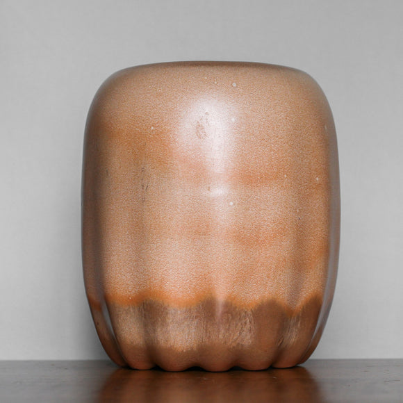 Frankoma Burnt Orange Jar