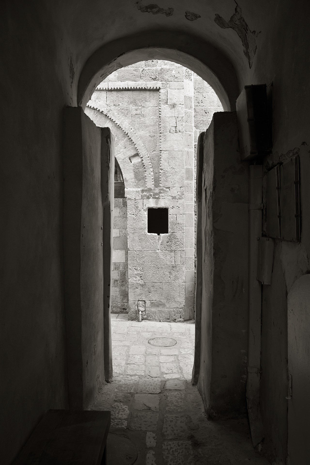 Jaffa in black & white - photography