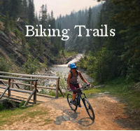 Biking Trails MTB Menu Button - Activities Banff & Canmore