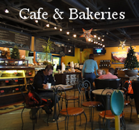 Cafe & Bakeries Menu Button - Restaurant Dining Guide Canmore