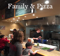 Family Pizza & Fast Food Menu Button - Restaurant Dining Guide Canmore
