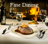 Fine Dining Menu Button - Restaurant Dining Guide Canmore
