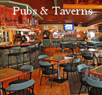 Pubs & Taverns Menu Button - Restaurant Dining Guide Canmore
