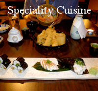 Speciality Cuisine Menu Button - Restaurant Dining Guide Canmore