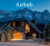 Airbnb Menu Button - Affordable Luxury - Canmore, Banff, Canada, USA, The World