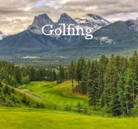Golfing Menu Button - Activities Rocky Mountain Golf