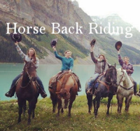 Horse Back Riding Menu Button - Attractions & Entertainment