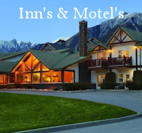 Inn's & Motel's Menu Button - Accommodations Canmore Drop Down
