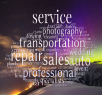 Service Menu Button - Elements of Canmore Trades, Professional Network