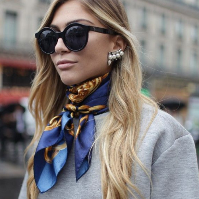 Master these 6 ways to tie a scarf for this spring and summer!