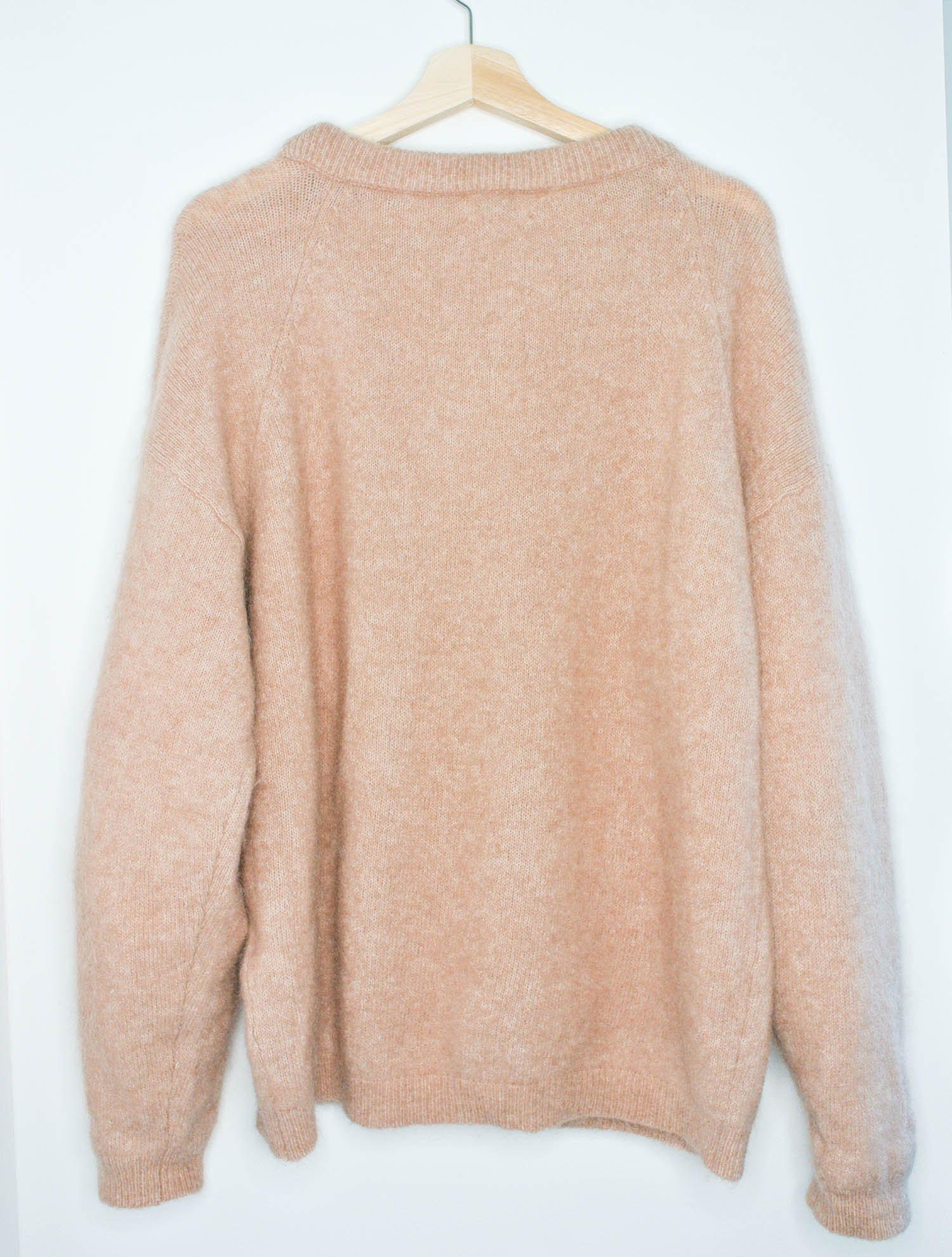 Acne Studios Dramatic Moh Crew Neck Sweater Sz Small