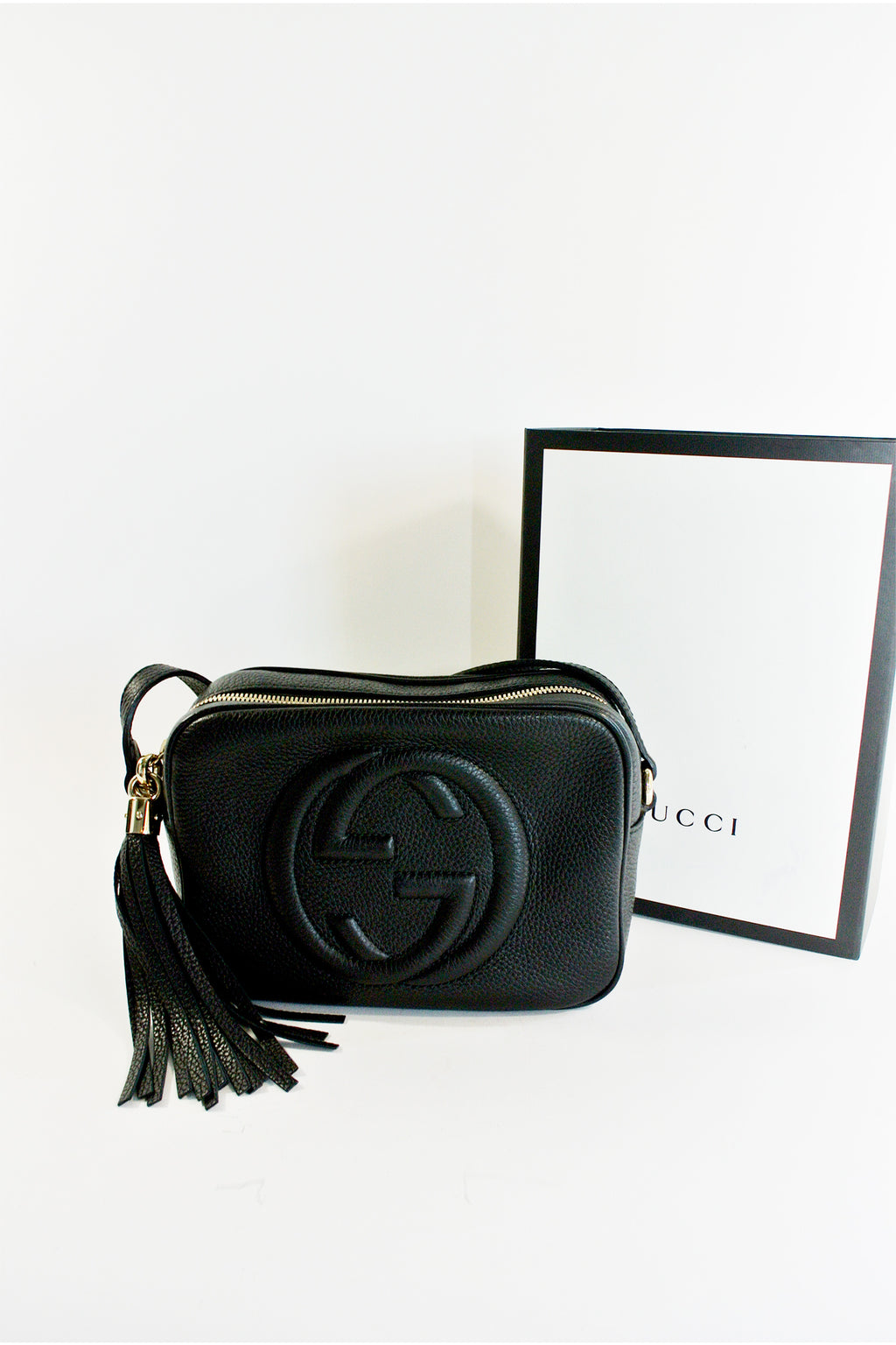 Gucci Soho Black Disco Bag (LIKE-NEW)