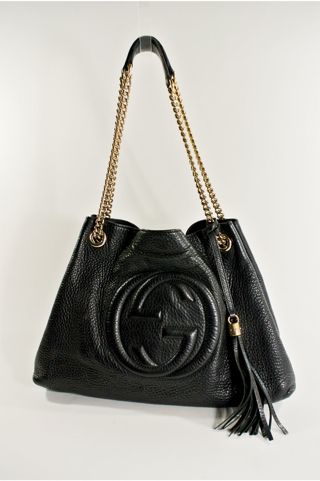 Gucci Black Soho Chain Shoulder Bag