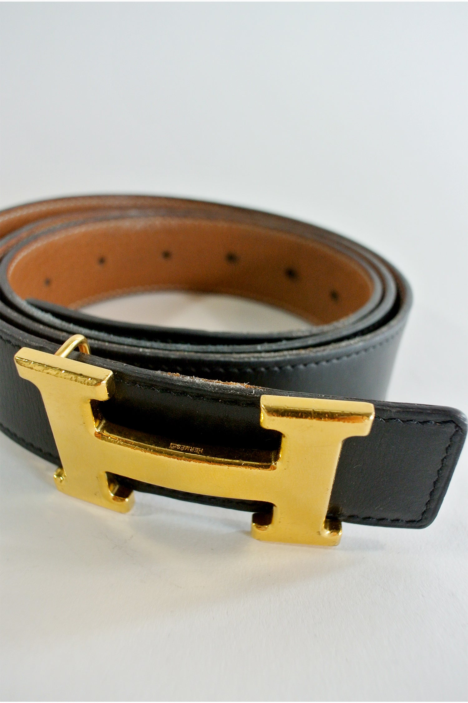 Hermes Reversible H 32mm Belt Kit 100CM