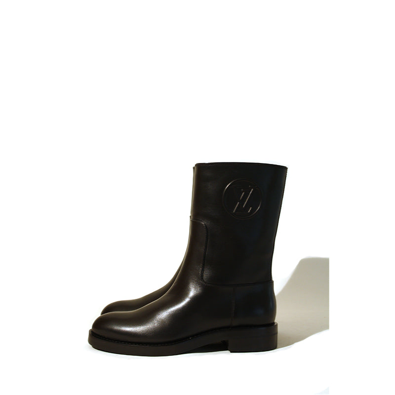 Louis Vuitton Overdrive Flat Boot Sz 36.5 – curatedandconscious b998178c4ee