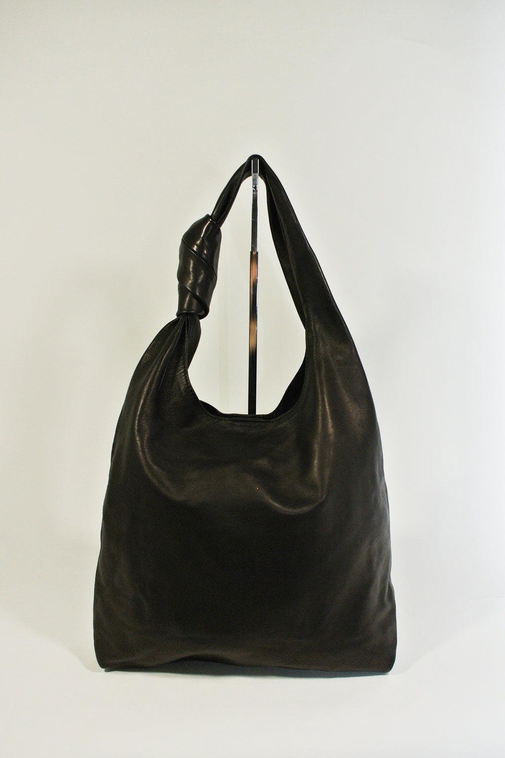 Loeffler Randall Black Leather Knot Bag