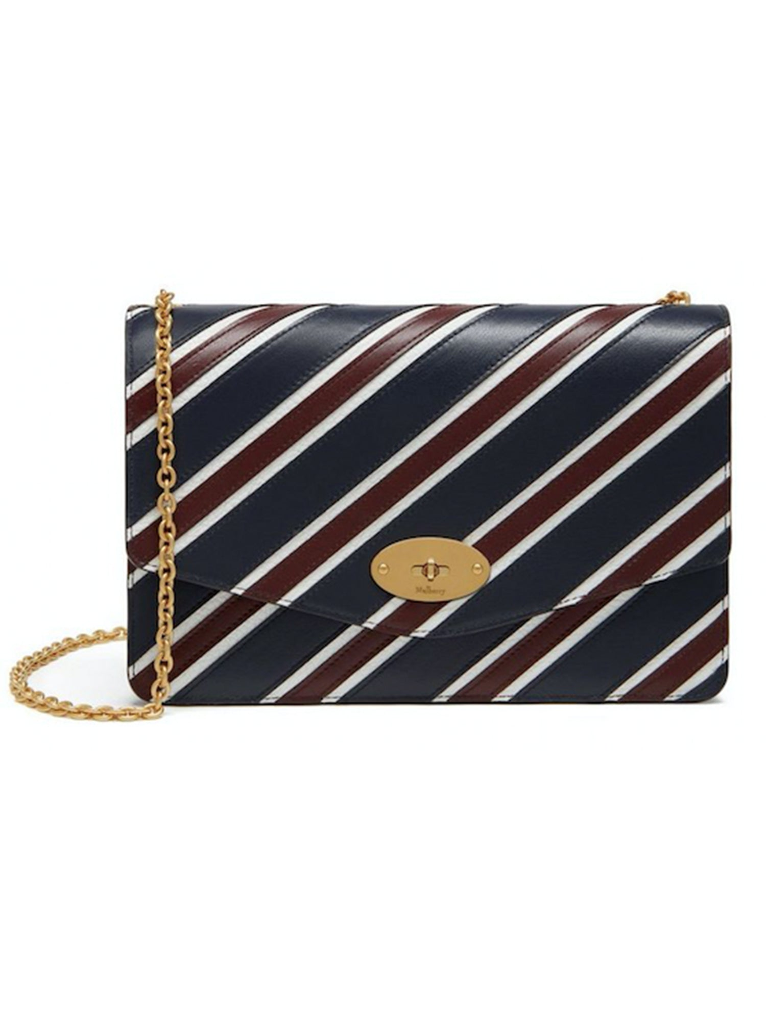 Mulberry SS2017 Striped Darley Bag