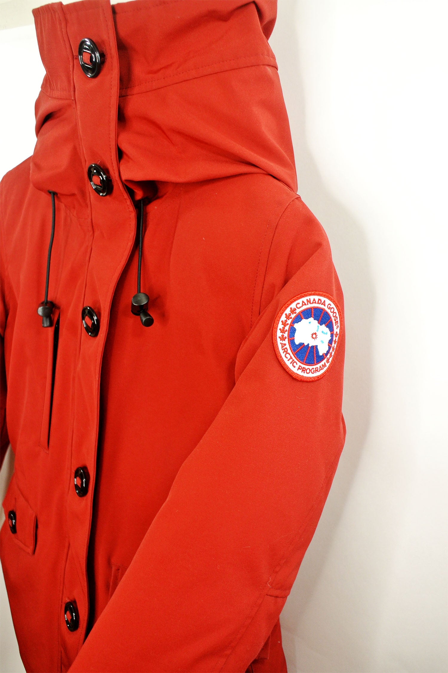 Canada Goose Rideau Parka Red Sz XS