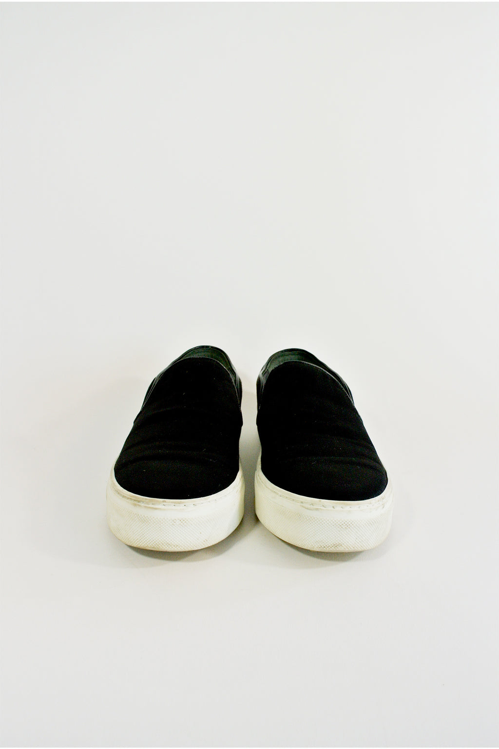 Celine Satin Slip-On Sneaker Sz 38