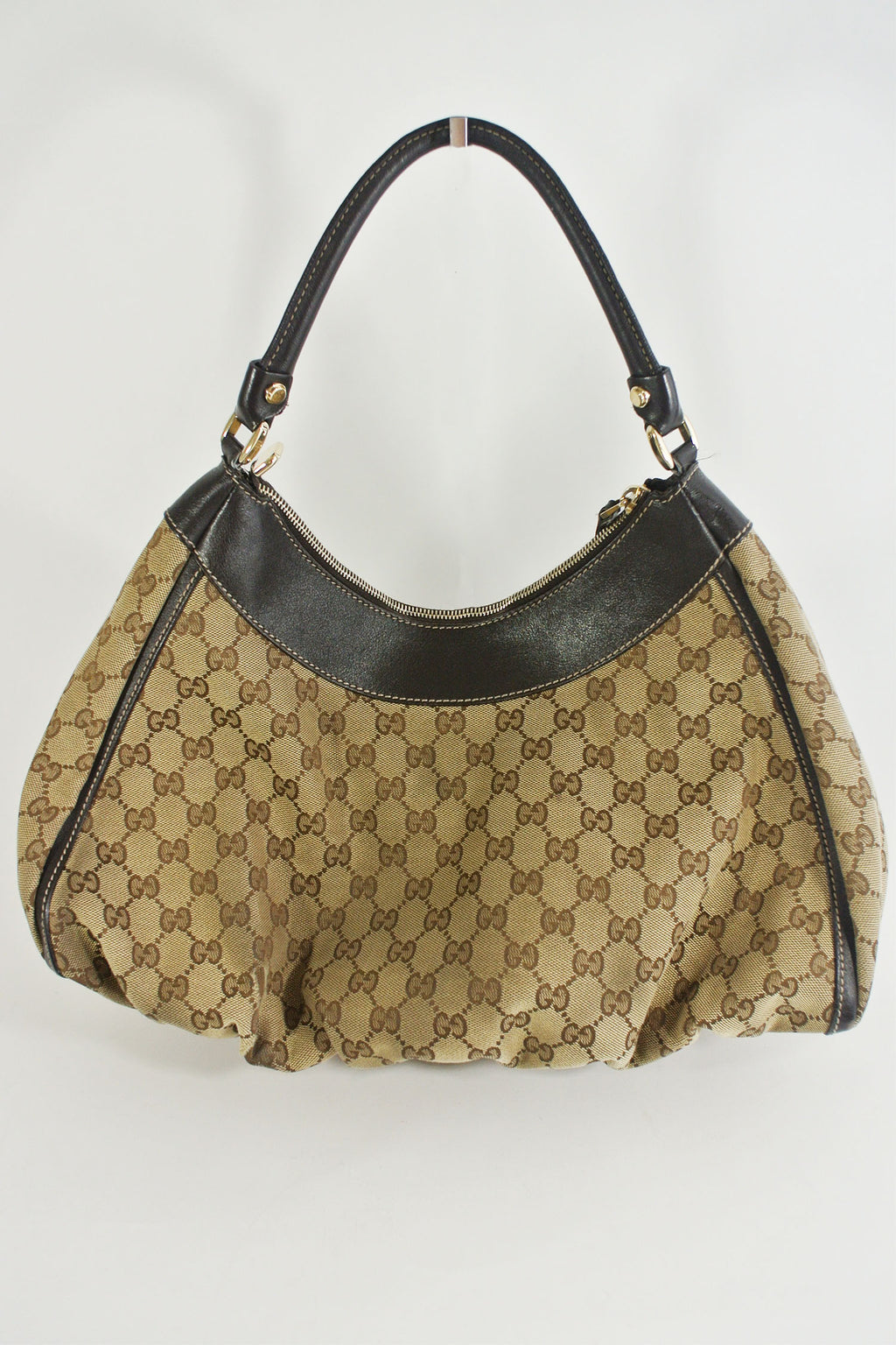 Gucci Monogram 'Large D' Shoulder Bag