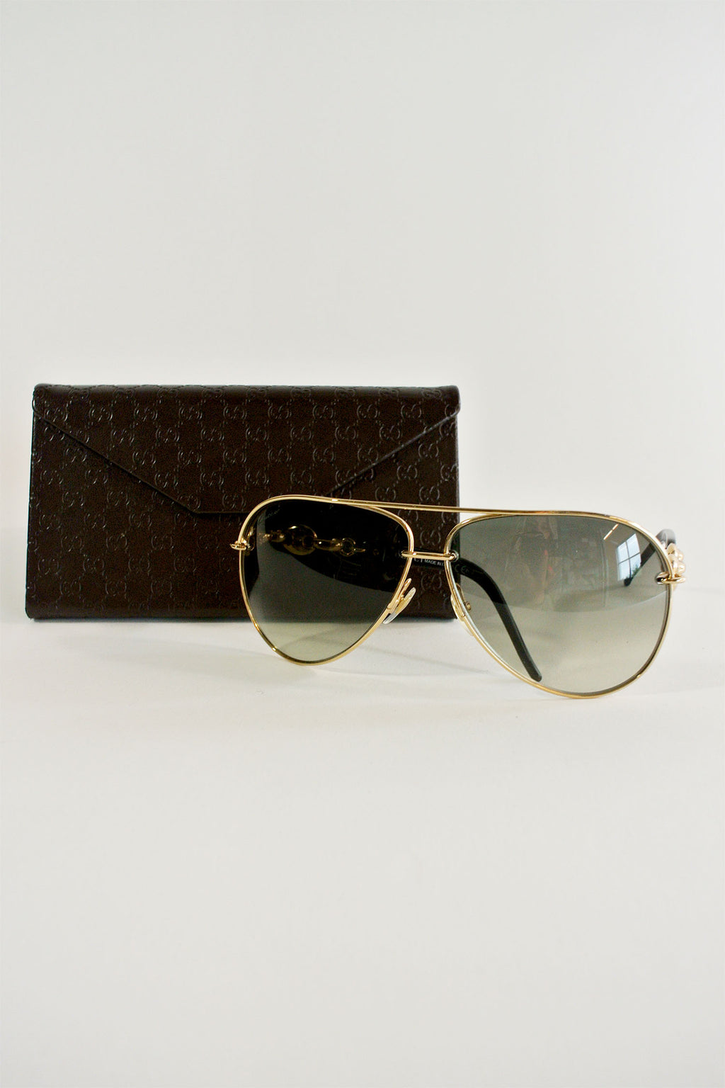 Gucci Gold Aviators