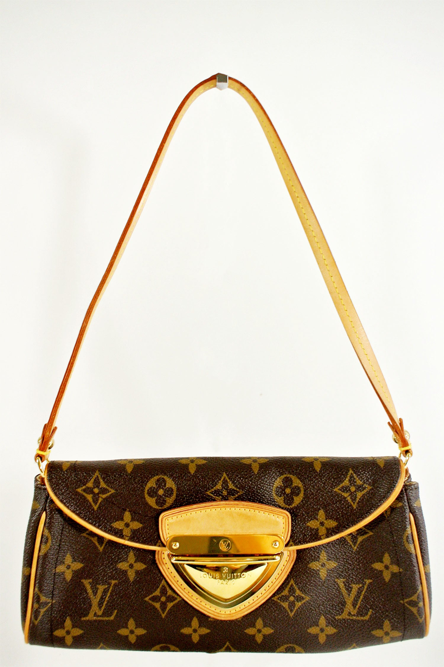 Louis Vuitton Monogram Pouchette Beverly Shoulder Bag