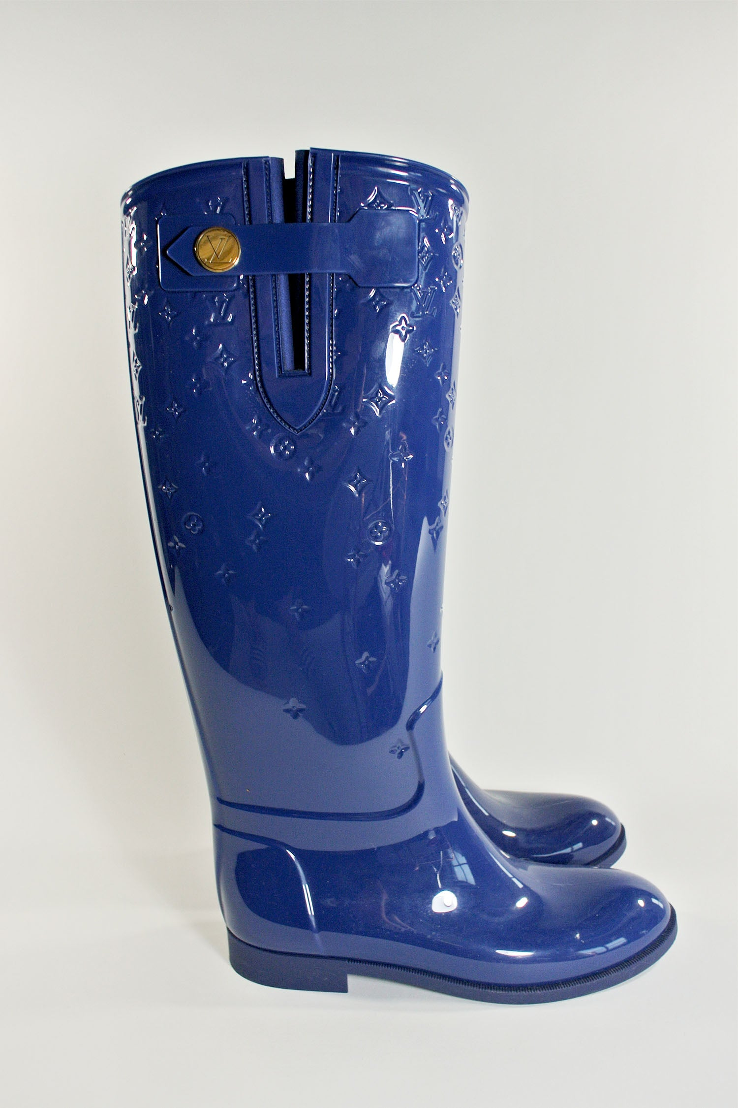 Louis Vuitton Monogram Rain Boot Sz 37
