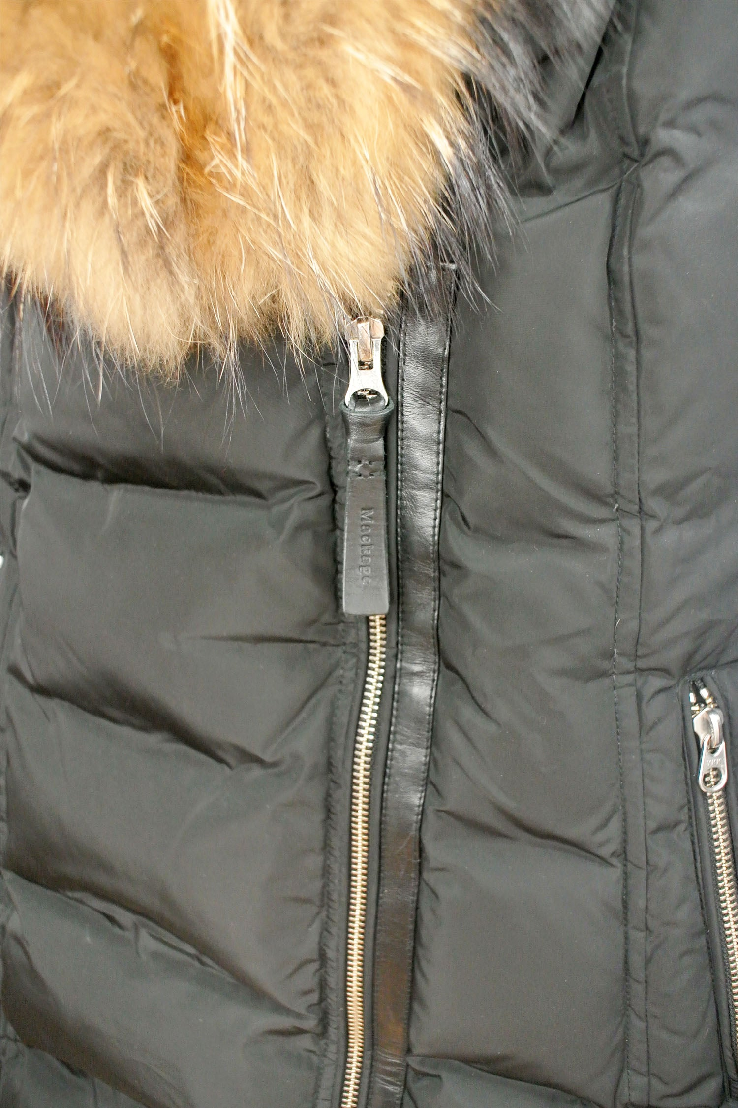Mackage Fur-Trimmed Down Parka Size S