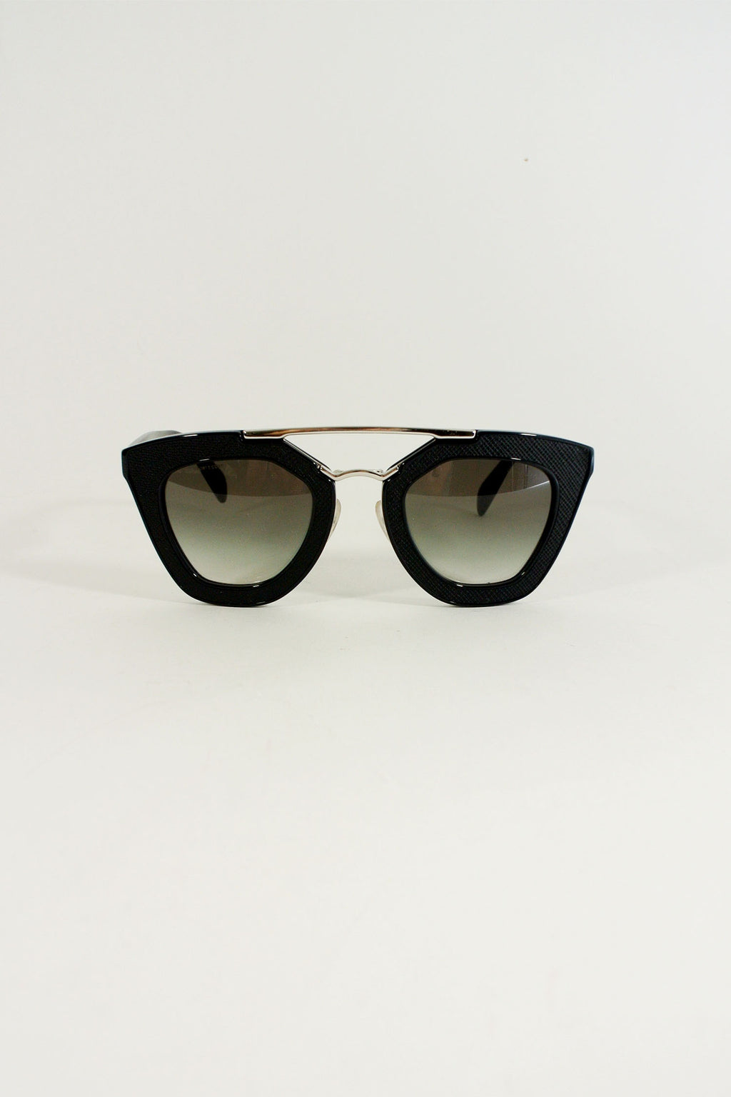 Prada Black Aviators