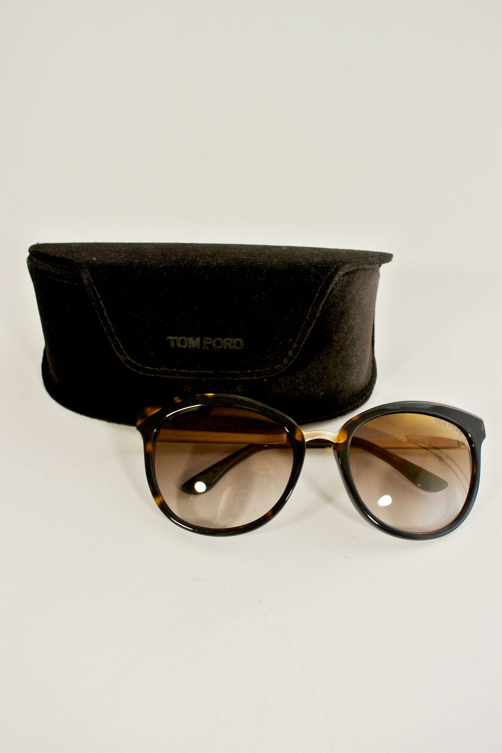Tom Ford Brown Fany Sunglasses
