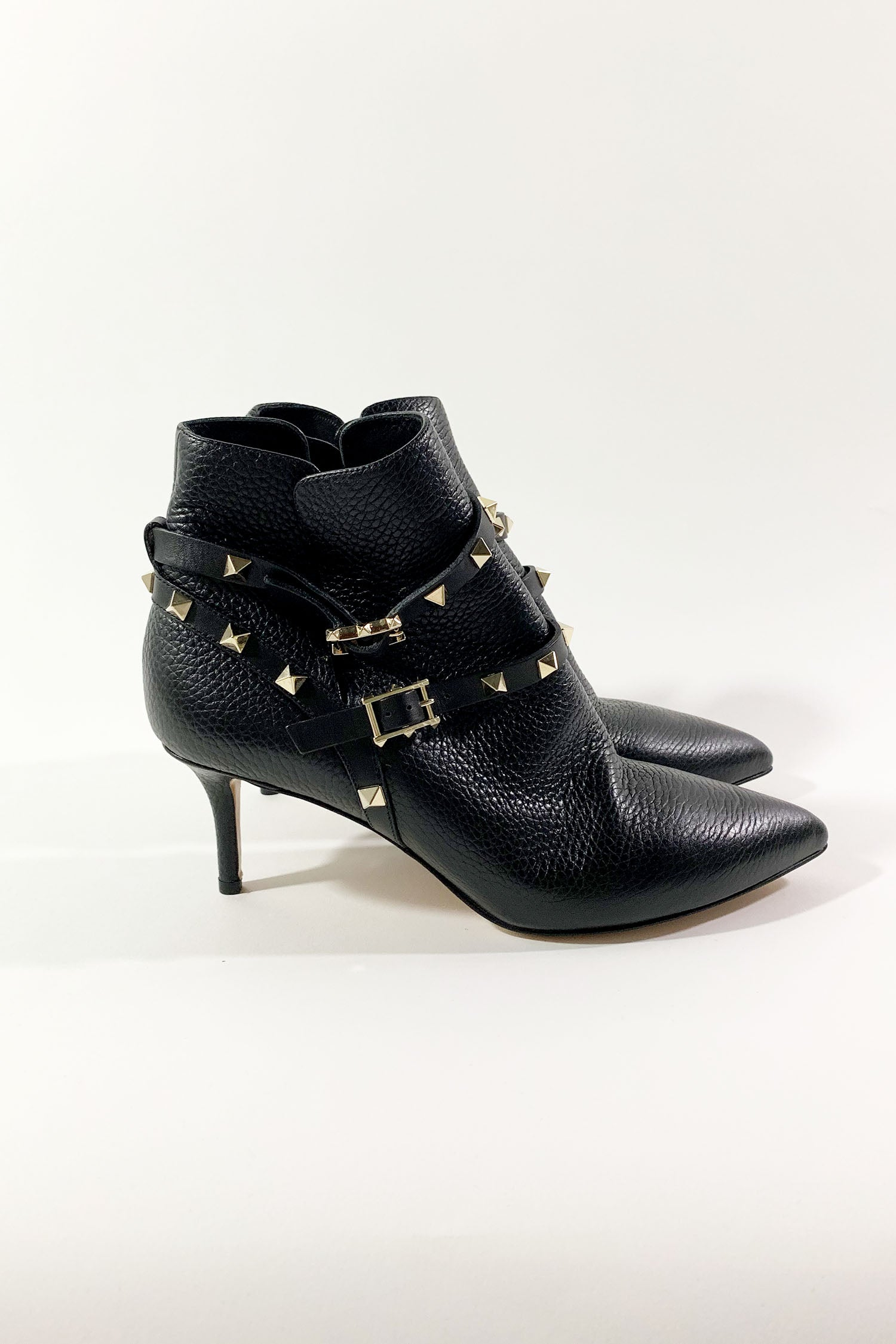 Valentino Rockstud Ankle Boots Sz 38