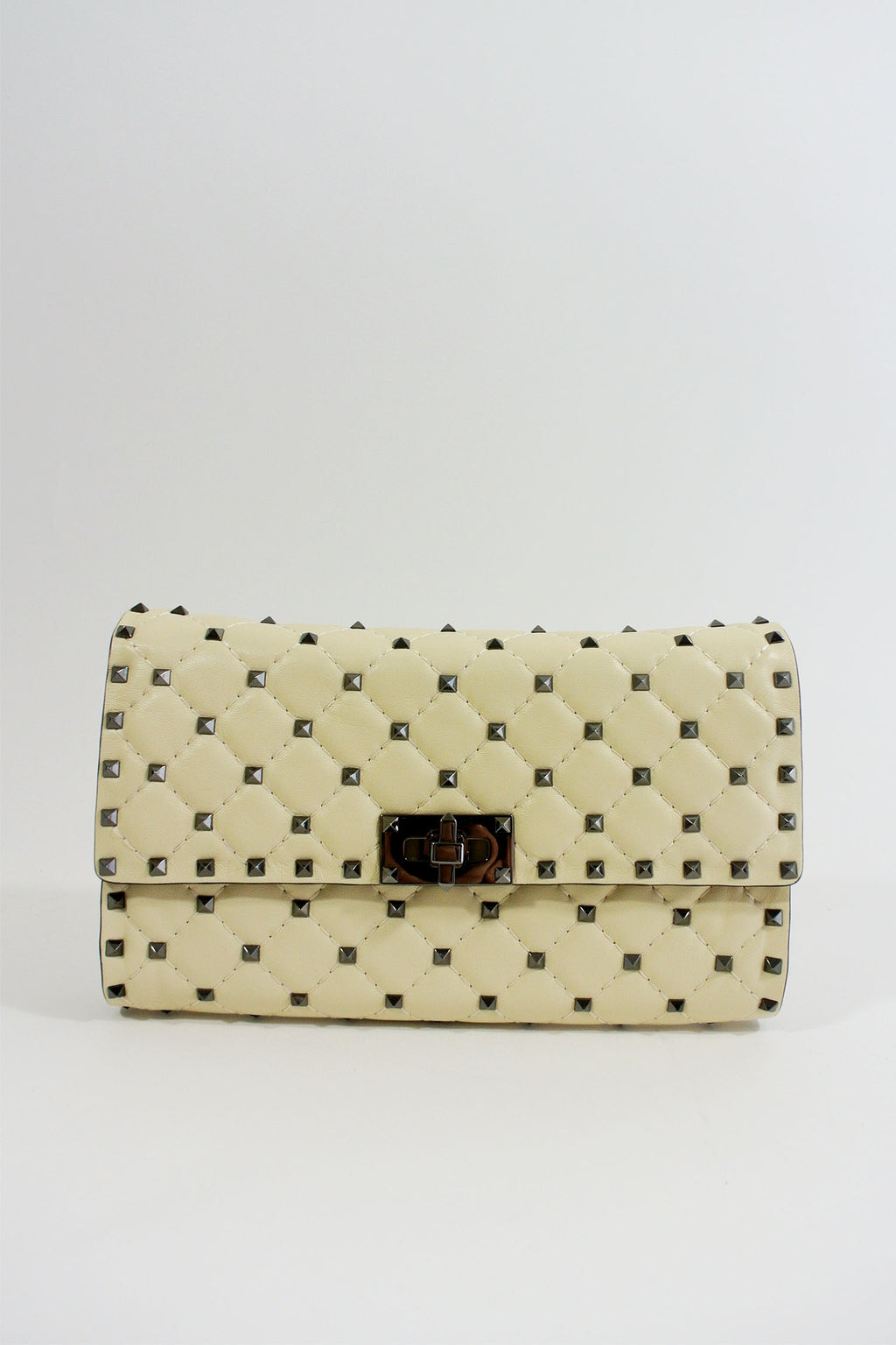 Valentino Rockstud Spike Wallet on Chain Crossbody Bag