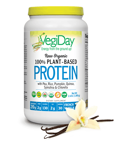 VegiDay Protein Powder, French Vanilla