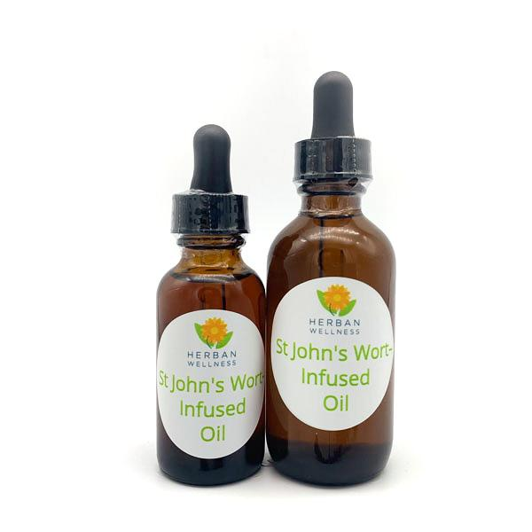 St. John's Wort-Infused Oil