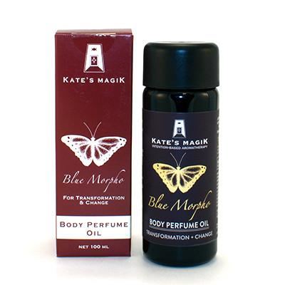 Blue Morpho Perfume Oil