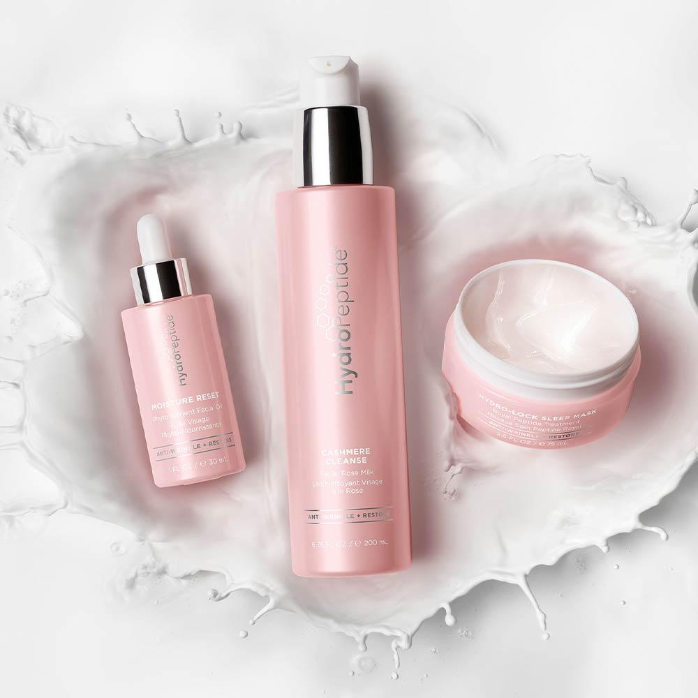 Cashmere Cleanse Facial Rose Milk - HydroPeptide