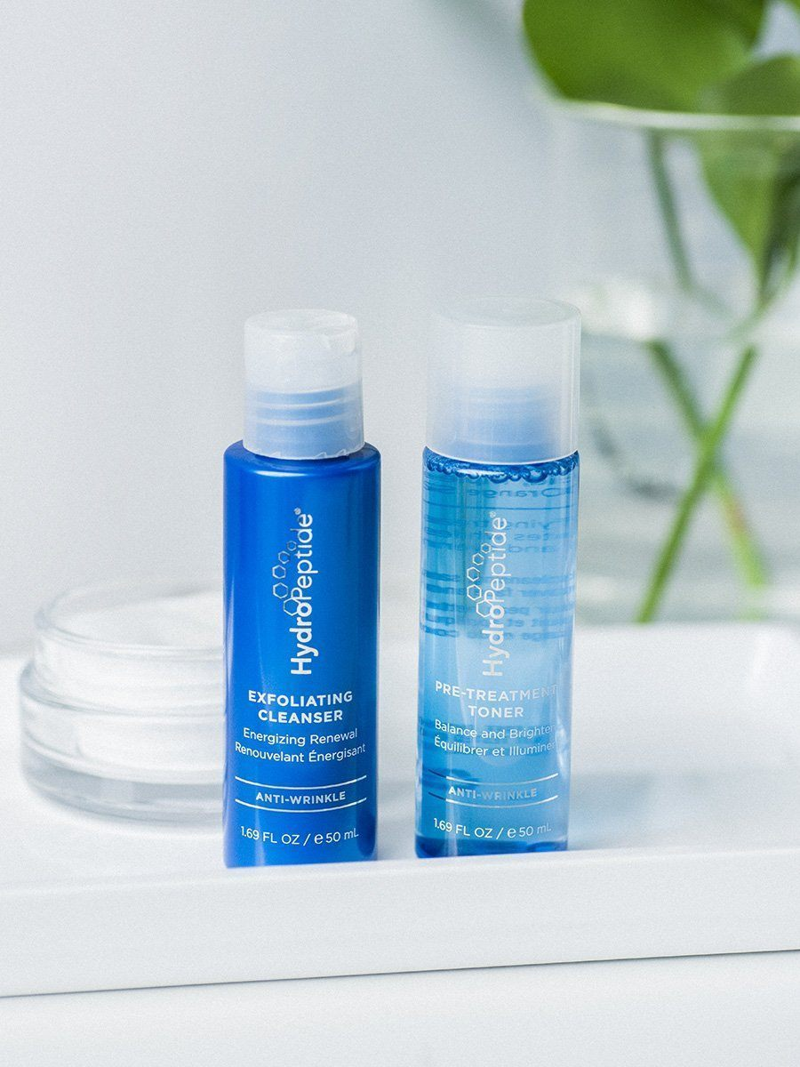 2-Step Facial Cleansing & Toning Starter Set - HydroPeptide