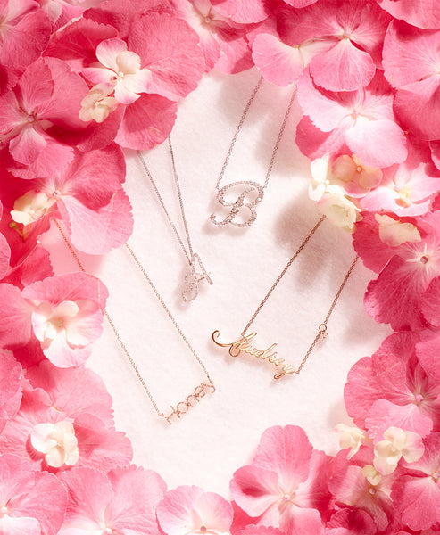 Love Letter Necklace & Pendants