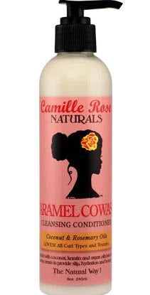 Camille Rose Naturals Caramel Cowash Cleansing Conditioner 8oz