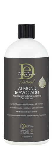 Design Essentials Natural Almond & Avocado Detangling Conditioner